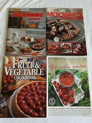 4 WOMEN'S WEEKLY COOK BOOKS Bulk Lot!