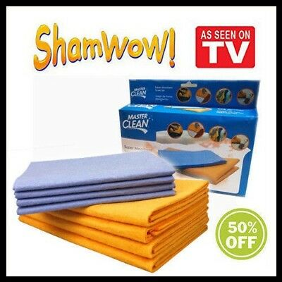 Shamwow Super Absorbent Cleaning Drying Towels Original Sham-wow 2x Large