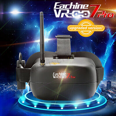 Eachine VR-007 Pro 5.8G 40CH FPV Goggles 4.3 Inch Video Headset W/ Battery AH220