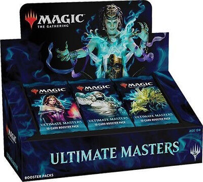 MTG Ultimate Masters Booster Box with Box Topper | Factory Sealed