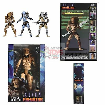 "HUNTER PREDATOR Neca ALIEN vs PREDATOR 1994 ARCADE 2019 7"" Inch Action FIGURE"