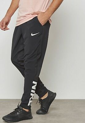 1b4e2c181480 Nike Men s DRY Project X Training Pants Dri-Fit Black White AH9598 010 Size
