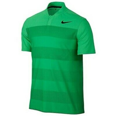 48095782 Men XL Nike TW Tiger Woods Golf Zonal Cooling Stripe Blade Polo Shirt  833171 300