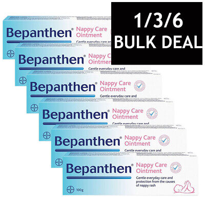 BEPANTHEN OINTMENT NAPPY RASH DUAL ACTION HEALS PROTECT BABY SKIN CARE 100g
