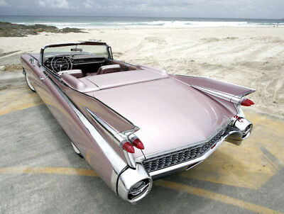 1959 Cadillac Eldorado Bucket Seats 1959 Cadillac Eldorado Biarritz convertible - world's rarest, most desirable!