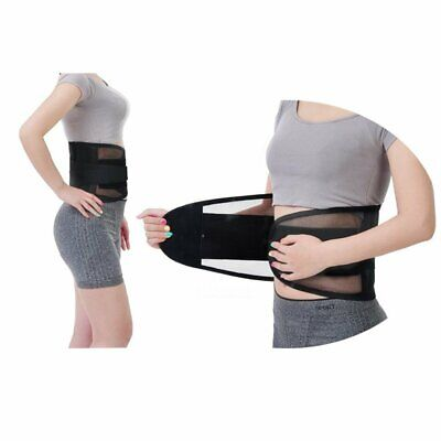 Back Support Lower Back Brace provides Back Pain Relief - Breathable Lumbar