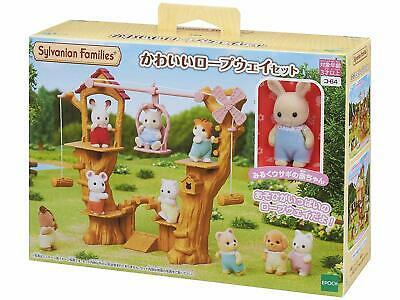 Sylvanian Families  MILK RABBIT ROPEWAY WOOD PLAYGROUND KO-64 Epoch