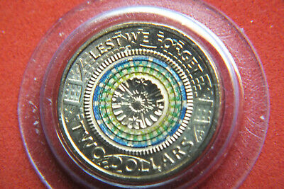 2018 Lest We Forget 2 Dollar Coin From The 30Th Anniversary Set.