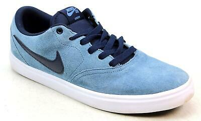 db479f98953a Unisex Nike Sb Check Solar Blue Suede Skater Sports Fitness Gym Trainers  Size 8