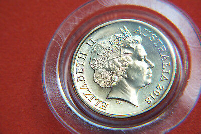 2018 Hahne/rank-Broadley Obverse 2 Dollar Coin From The 30Th Anniversary Set.