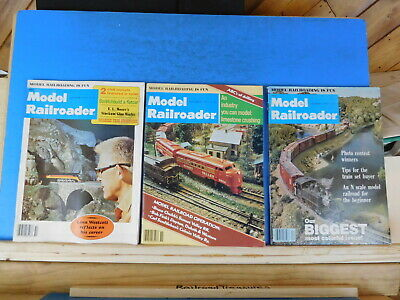 Model Railroader Magazine Complete Year 1977 12 issues