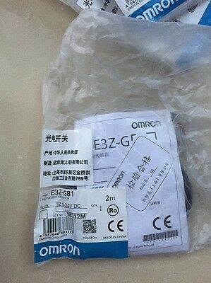 1PC New Omron E3Z-G81 12-24VDC Photoelectric Switch #RS8