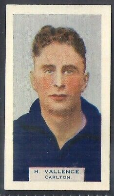 Phillips (Overseas)-Victorian Football Aussie Rules (Bdv Back)-#38- Carlton