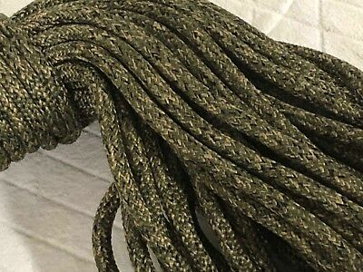 3/8x150  feet Double Braid Nylon CAMO ROPE Anchor Hoist Winch tree stand camp