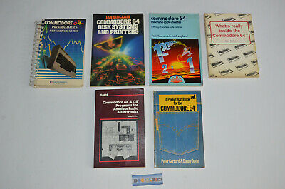 Lot Livres Commodore 64 Programmer's Réference guide Anglais
