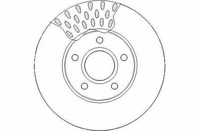 1.6 TDCi 2007-2011 REAR 2 BRAKE DISCS AND PADS SET NEW FORD C-MAX 1.6