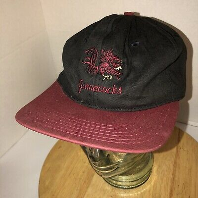 6a13de8d6630b Vintage SOUTH CAROLINA GAMECOCKS 80s USA Hat Cap Snapback Gamecock Gear RARE