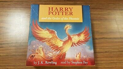 Harry Potter and the Order of the Phoenix - Complete Unabridged 24 Audio CD Set