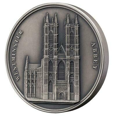 2018 Benin 100g Mauquoy Westminster Abbey Infinity Minting Silver Coin