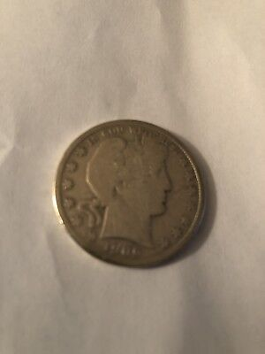 Very Nice Circulated 1906 Barber Half Dollar