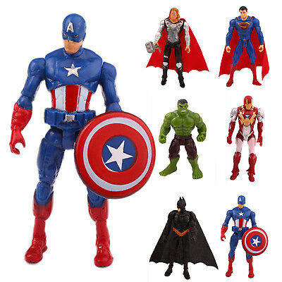 MARVEL SUPERHELDEN Action figuren Figur Spielzeug Iron Man, Thor, Hulk, Batman