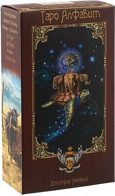 New Cards Deck Tarot Alphabet 78 Collection Russian English Rare Deluxe Folklore