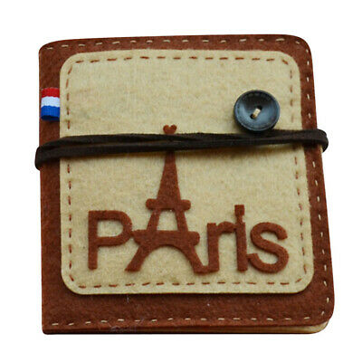DIY Paris Tower Card Bag Non-woven Cloth Felt Sewing Crafts Set Kit Gifts