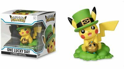 Funko Figure Pokemon A Day With Pikachu One Lucky Charm Vinyl IN HAND