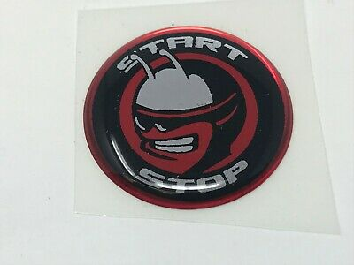 Challenger Charger Journey Starter Push Start Button Decal Emblem Scap Pack Bee