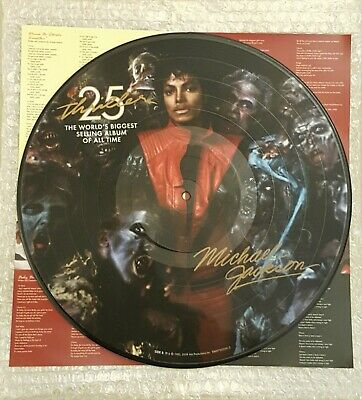 MICHAEL JACKSON - THRILLER 25th ANNIVERSARY VINYL LP PICTURE DISC (2008)