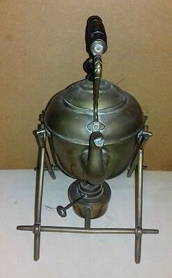 Vintage  Brass Spirit Kettle