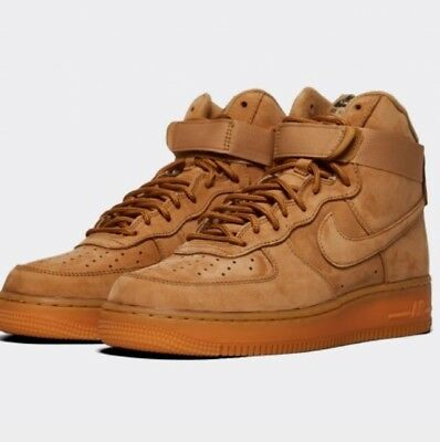 uk availability 6bbae df220 Nike Air Force 1 Haut Wb Lv8 - Blé Marron Flax Gomme - Homme 7