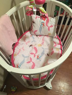 For The Stokke Sleepi Mini Fitted Sheets 100% Cotton