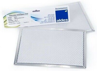 Aldes HRV Air Filter 612409 Kit, H95, H150, H110