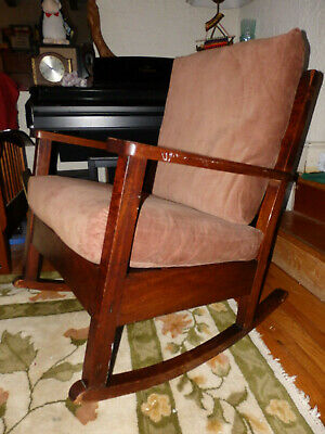 Quartersawn Mission Rocker / Rocking Chair Arts Craft Armchair (Local Pickup)