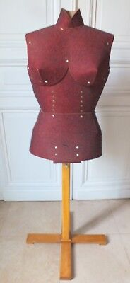 marotte model couture bust showcase deco vintage years 50/60
