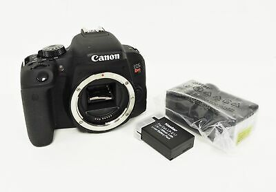 Canon EOS Rebel T7i Digital SLR Camera (Body only)