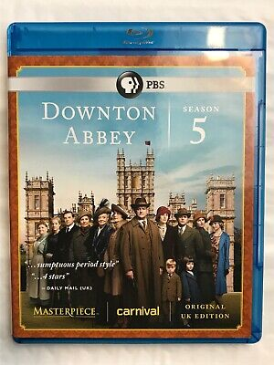 Downton Abbey Season 5 Blu Ray Original UK Edition Excellent Used Condition