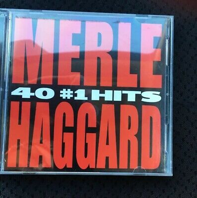 Merle Haggard - 40 #1 Hits (2-CD set, 2004) • Greatest, Best of