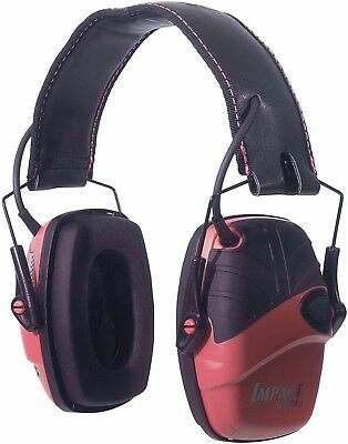 Howard Leight Impact Sport Sound Amplification Electronic Hunting Earmuffs Pink
