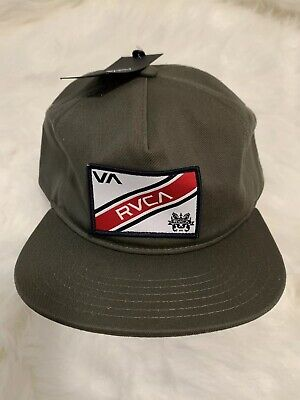 the best attitude a7c21 8e771 RVCA - Mens Hat Green Cap VA RVCA NWT