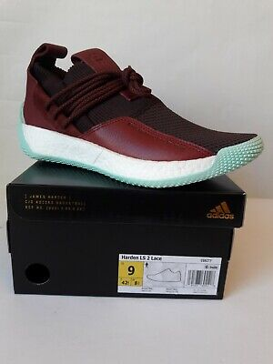 22ca4466dd9 New adidas Men s Shoes Size 9 HARDEN LS 2 LACE With Box CG6277 Maroon Red