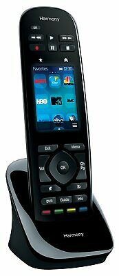 Logitech Harmony Ultimate One Touch Screen Control - Black (915-000224)