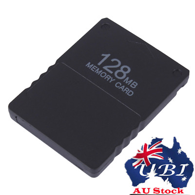 AU!! 128MB Memory Card Save Game Data Stick Module For Sony PS2 PlayStation 2