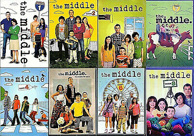 .The Middle Complete Series Seasons 1-8 (24 Disc DVD Set),New! 1*2*3*4*5*6*7*8