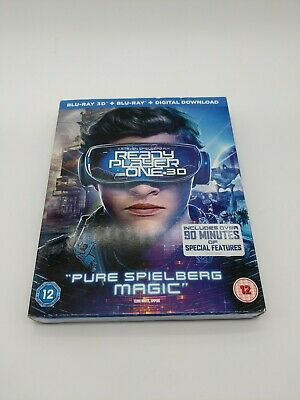 Ready player one blu ray 3d