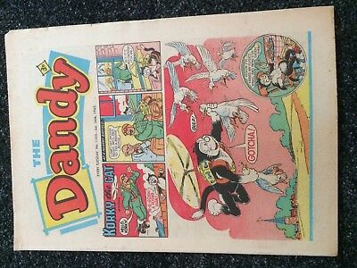 The DANDY Comic #1105 (D.C.Thomson - Beano Magic) Rare Very Fine+  January 1963