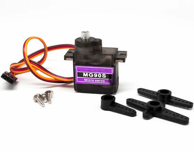 5-10P Metal Gear Micro Servo MG90S for Boat Car Plane RC Helicopter, Arduino