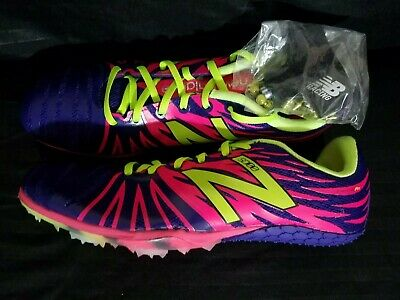 separation shoes 7d920 0e6b3 New Balance Track and Field Spikes 7 1 2 SD100 WSD100PP Women s Purple Pink  NEW