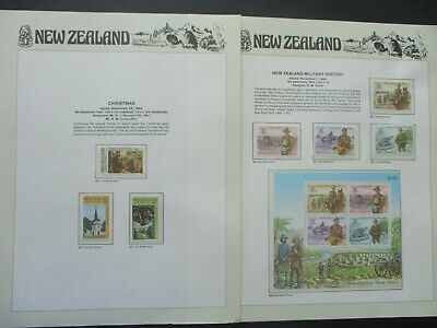 ESTATE: New Zealand Collection on Pages - Must Have!! Excellent Item! (p1354)